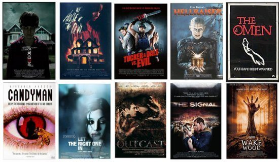 Top Horror Movies on Netflix Streaming Fall 2012