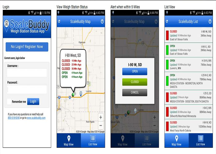 Truck Driver App: Scale Buddy