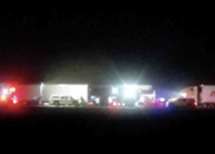 Texas Dust Storm Causes Fatal 13 Vehicle Pileup