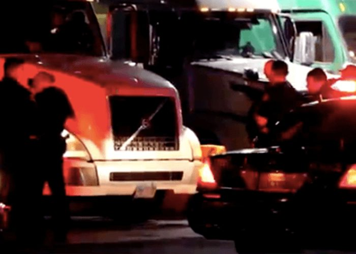 Trucker Survives Shooting At California Truck Stop