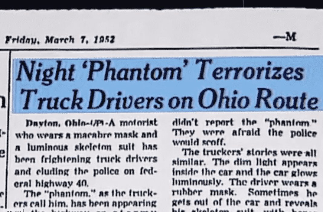 VIDEO: The Phantom Of Route 40