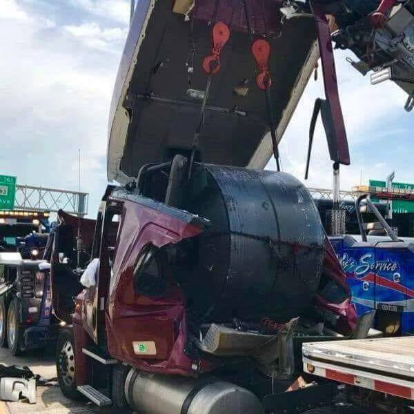 Female trucker shares viral message about trucking coils