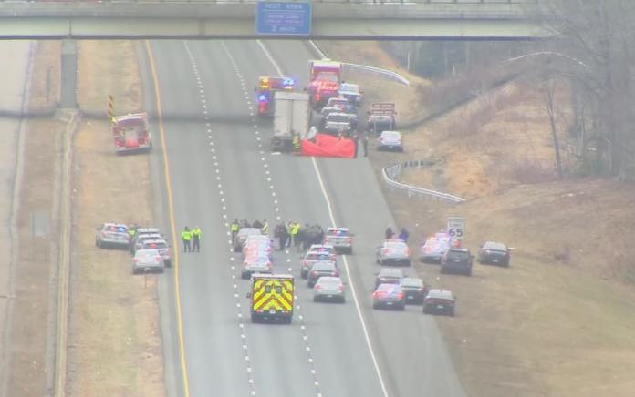 Connecticut trooper killed after rear ending slow moving big rig