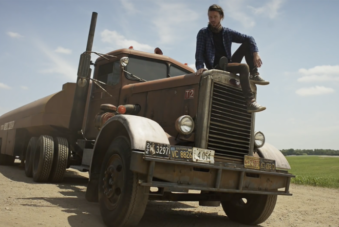 get a closer look at the only surviving truck from the