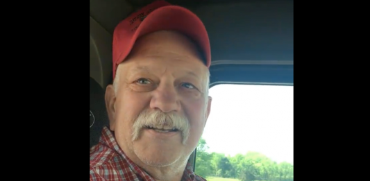 Veteran trucker shares inspiring song after stage four colon cancer diagnosis