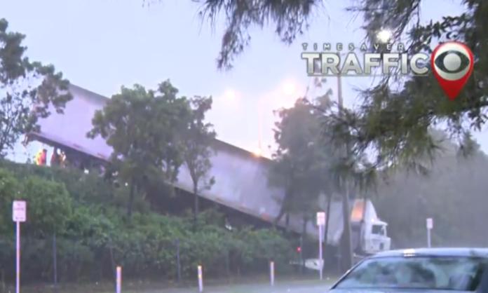 South Florida Neighborhoods Flooded by Tropical Storm Eta